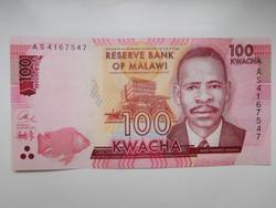 Malawi 100 kwacha 2014 UNC