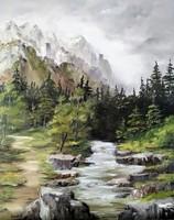 Horváth Mónika - 40x50 cm-es olajfestmény