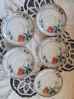 Eladó régi porcelan Bavaria seltmann teás aljak 5 db!