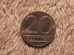 Lengyel 20 Zloty 1989