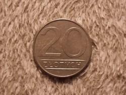 Lengyel 20 Zloty 1986