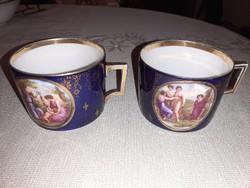 Altwien teás csészék