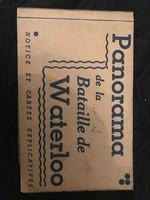Francia Képeslap album Panorama the la  Bataille de Waterloo