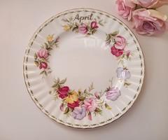 Royal Albert tányér Április 20,5cm