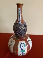 Antik Herendi Gödöllői mintás áttört váza