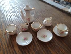 Mini baba porcelàn teáskèszlet