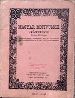 Gergely János: Magyar motívumok gyűjteménye (1926)