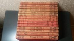 Egyetemes regénytár 14 db