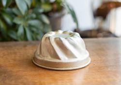 Mini alumínium kuglóf vagy puding forma - retro konyhai kiegészítő, vintage dekor sütőforma