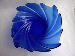 Nagy, kék kínáló tál