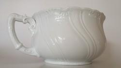 Régi bili fehér porcelán vintage éjjeli edény 1930 körül