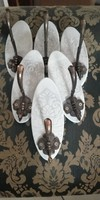 Beautiful provence, vintage wall hanger, gold or white antique hanger