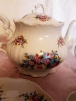 Zsolnay  teás készlet 6 személyes