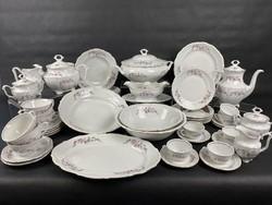 Walbrzych porcelán étkészlet, kávés- és teáskészlet