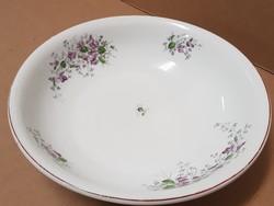 Szép antik porcelán tál