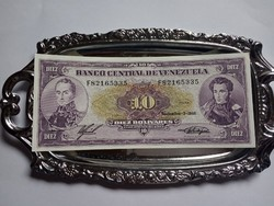 Unc  10   Bolivares  Venezuela 1988 !! Ritka !!