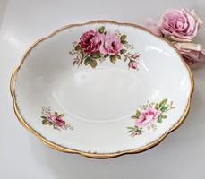 Royal Albert rózsás mély tál American Beauty