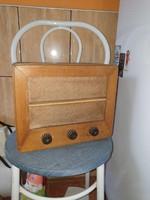 Retro régi ritka Elektroncsöves lámpás Orion 115 A asztali rádió