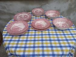6 személyes English Ironstone Tableware  Ltd készlet