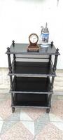 Gyönyörű antik különleges ,bútor Etazser, praktikus dekoratív,vitrin , bemutató,,polc polcos,àllvàny