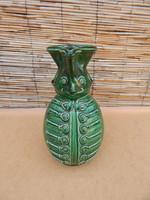 Karcagi Miska kancsó,,méregzöld színű.25 cm.