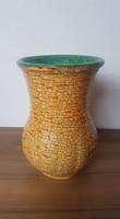 Retro Gorka Géza iparművészeti kerámia váza