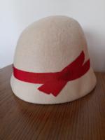Retro régi női kalap az 50-es évekből