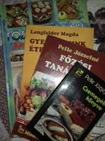 Retro szakácskönyvek