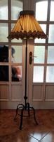 Kovàcsolt vas àllólàmpa , gyönyörű különleges egyedi ,Loft,Art Deco Retro stílusú modern stílus,5,5
