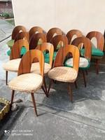 Antonin Suman : mid century design étkezőszék garnitúrák
