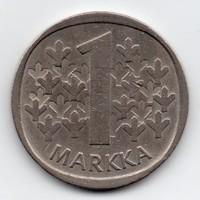 Finnország 1 finn Márka, 1979