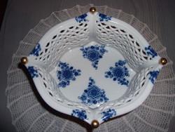 Wallendorf porcelán kínáló kosár (01)