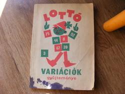 Lottóvariációk gyűjteménye 1970
