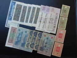 Németország 20 darab márka bankjegy LOT !