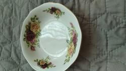 Bavaria fine rózsás kompotos kis tányér