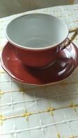 Zsolnay   barokk. Kávés csésze
