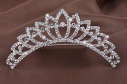 Esküvői, menyasszonyi, alkalmi hajdísz,tiara, fátyol tartó ES-HF07