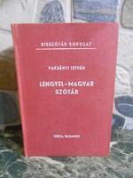 Varsányi István: Lengyel-magyar szótár