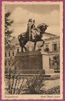 *C - - - 020  Magyarország régi képeken: Székesfehérvár Szent István szobra