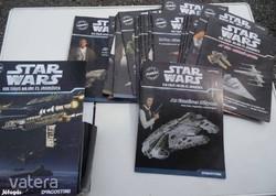 Deagostini Star Wars 23 darabos gyűjtemény fém plusz újságok (AA-01)