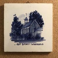 Csempe  díszcsempe  Delft