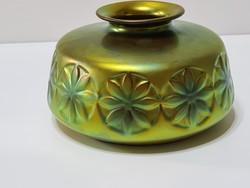 Zsolnay Eozin Margarétás váza
