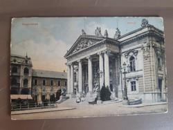 Nagyvárad, színház képeslap, 10-es, 20-as évek