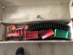 Retró játék DDR vonat szett dobozában Grip