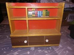 Fa játékbaba bútor,szekrény eladó
