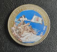 Libéria 10 dollár 2001 UNC Érmetokban