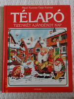 Mauri Kunnas - Tarja Kunnas: Télapó 12 ajándékot kap - régi mesekönyv (1992)