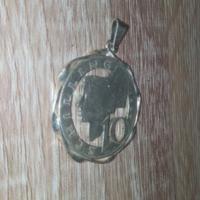 Silver 1958/10 schilling custom pendant
