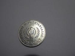 Nemzetközi gyermekév ezüst 200 Forint 1979, 200 Ft ezüst emlékérme