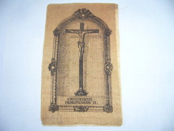 ANTIK  SELYEM SZENTKÉP  cca.  1850